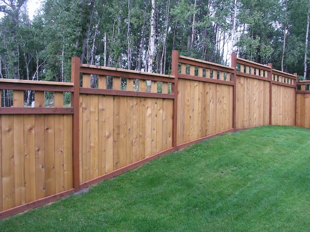 Our Services Blue Jay Fence Llc Privacy Fence Landscaping Privacy Fence Designs Backyard Fences