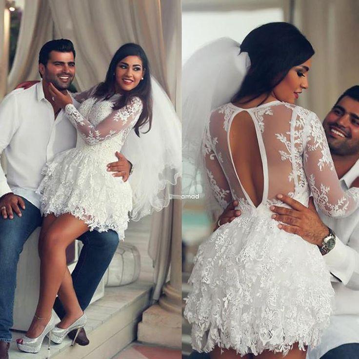 Short Wedding Reception Dress For Bride