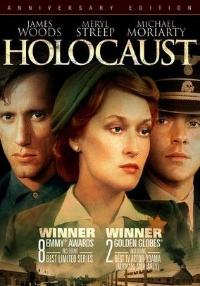 "The 1978 NBC miniseries ""Holocaust: The Story of the Family Weiss."" One of my favorite onscreen portrayals of the Holocaust and one of the first cultural accounts to open discussion about the Shoah in Europe and the United States."