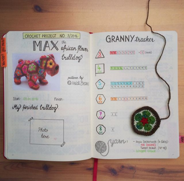 INSPIRATION: 10 Bullet Journal Tips for People Who Crochet