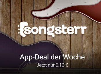 """Musik-App: Songsterr Guitar Tabs & Chords für zehn Cent bei Google Play https://www.discountfan.de/artikel/tablets_und_handys/musik-app-songsterr-guitar-tabs-chords-fuer-zehn-cent-bei-google-play.php Als neuer App-Deal der Woche lockt bei Google Play das Programm """"Songsterr Guitar Tabs & Chords"""" zum symbolischen Preis von zehn Cent. Wer die App einmal erworben hat, erhält unlimitierten Zugriff auf Akkorde und mehr der Seite Songsterr.com. Musik-App: Songst"""