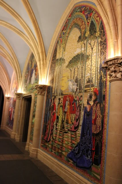 17 best ideas about castle mural on pinterest princess for Cinderella castle wall mural