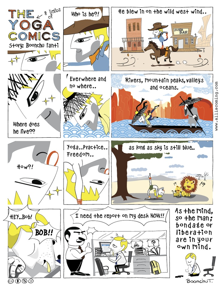 Över 1 000 bilder om The Yoga Comics på Pinterest