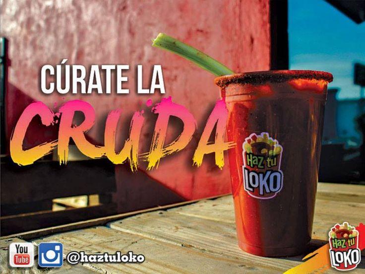tomattoLOKO el mejor coctel de tomate artesanal, delicioso, picosito, con mucho sabor, solo en HAZ TU LOKO!