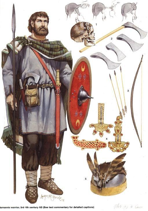 4th Century Germanic warrior