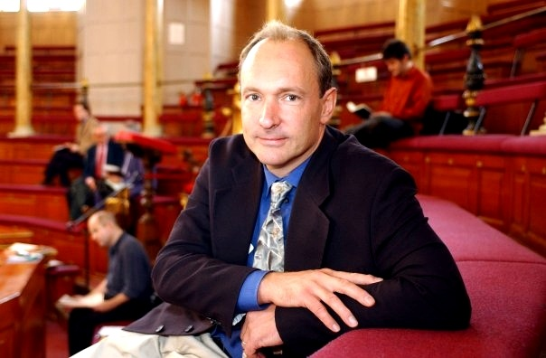 """The founders of the World Wide Web have been honoured by the Royal Academy of #Engineering with a one million pound Queen Elizabeth Prize for Engineering. Sir Timothy John """"Tim"""" Berners-Lee, OM, KBE, FRS, FREng, FRSA  is a British computer scientist who made a proposal for an information management system in March 1989,and he implemented the first successful communication between a Hypertext Transfer Protocol (HTTP) client and server via the Internet sometime around mid November."""
