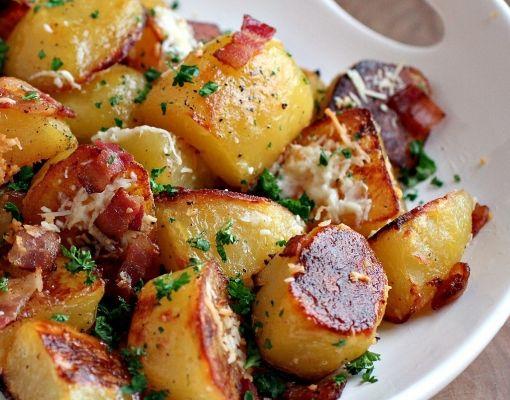 Fırında Elma Dilim Patates