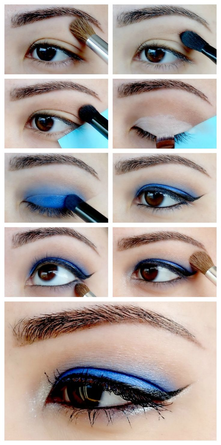 Sparkly Blues New Years Eve Makeup Tutorial