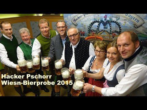 Oktoberfest 2015: Hacker-Pschorr Bierprobe im Alten Eiskeller der Brauerei