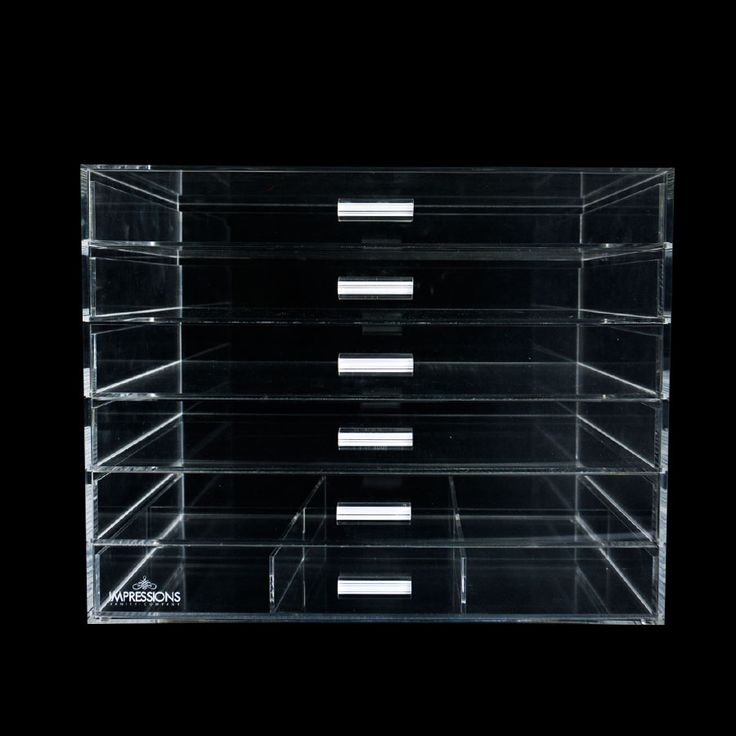 Impressions Vanity 6-Tier Wide Acrylic Organizer