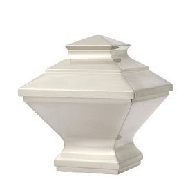 Manhattan finial for 1 1/8 inch metal contemporary curtain rod