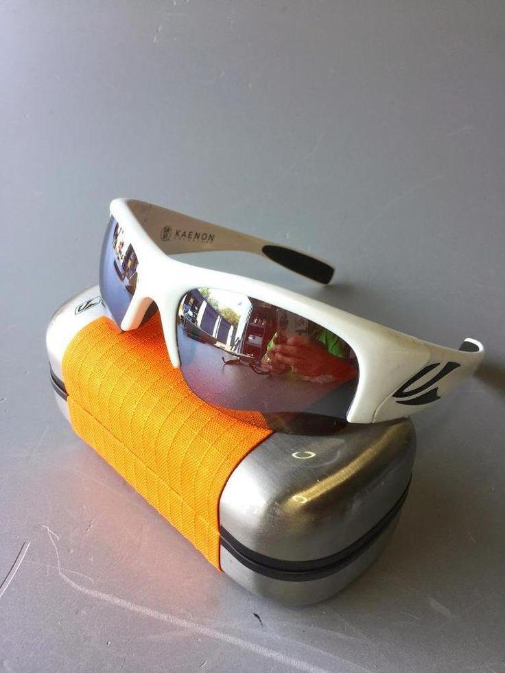 Kaenon White Hard Kore sunglasses with SR91 copper polarized lenses~PREOWNED #Kaenon #HARDKORE
