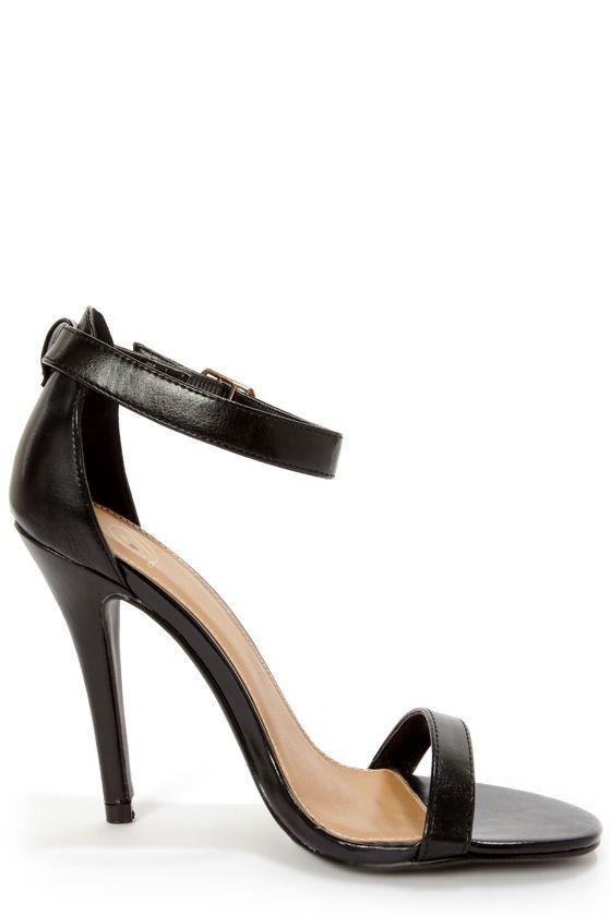 1000  ideas about Black Singles on Pinterest | Black strap heels