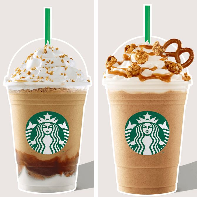 Starbucks Summer Launch 2017 with the new Pop'Zel Coffee Frappuccino and Roasted marshmallow S'mores Frappuccino