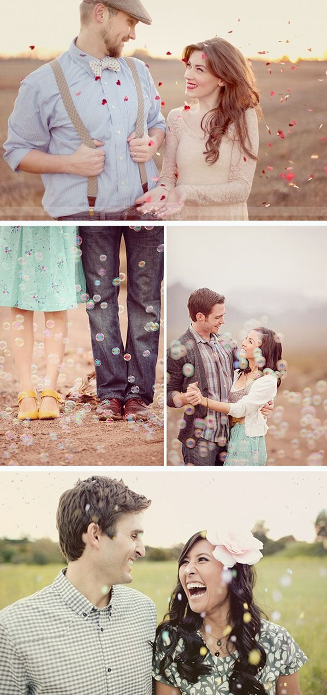 Love the bubbles and confetti Bubble machine...this would be cute to do with a maternity shoot, next time!