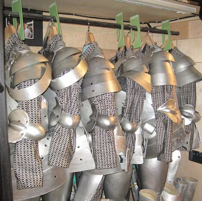 robbie moriarty: Backstage Shrek / Lord Farquaad's Knights