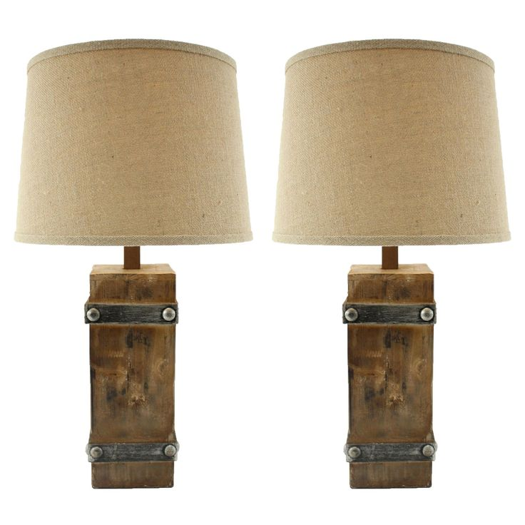 Have to have it. Aspire Home Accents Brockton II Table Lamp - Set of 2 - $171.72 @hayneedle