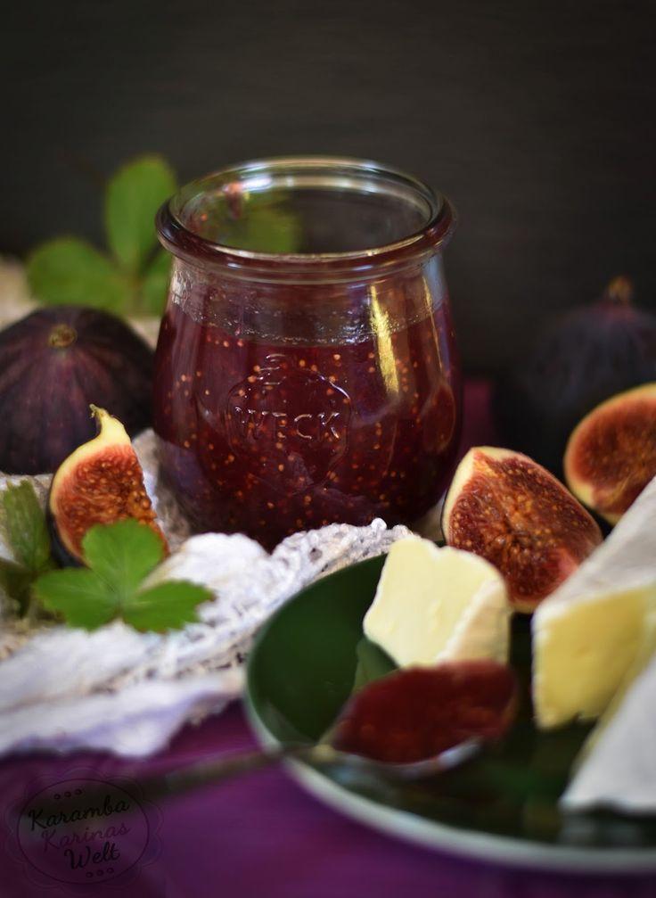 Rezept für Feigen-Rotwein-Marmelade, Rotwein, Feigen