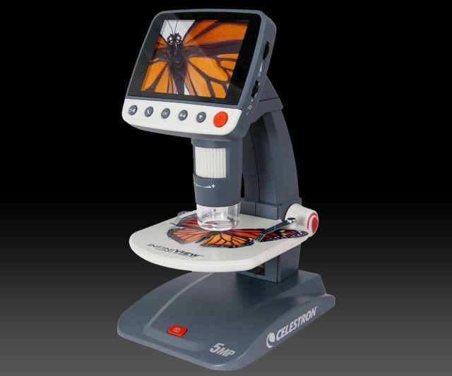 Celestron 5 MP LCD Digital Microscope | DudeIWantThat.com