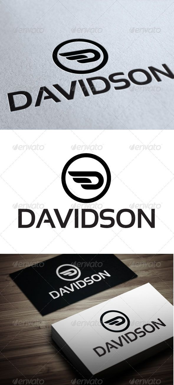 Davidson  #business #wing  #company #d • Available here → http://graphicriver.net/item/davidson/3544696?s_rank=163&ref=pxcr