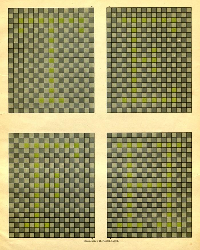 Good Blue, Yellow Colour Blindness Chart, From Tafeln Zur Bestimmung Der  Blau Gelbblindheit