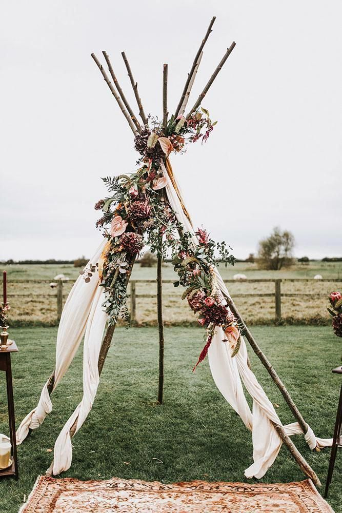 30 Free Spirited Bohemian Wedding Ideas Wedding Forward Bohemian Wedding Decorations Boho Wedding Arch Tipi Wedding Inspiration
