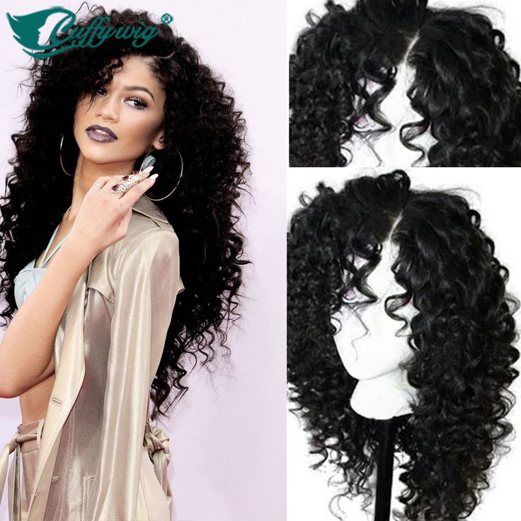 Find More Human Wigs Information about Top Quality Deep Curly Full Lace Wigs On…