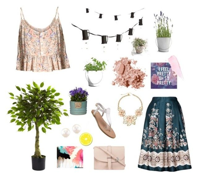 """""""Floral freshness"""" by caitymillner on Polyvore"""