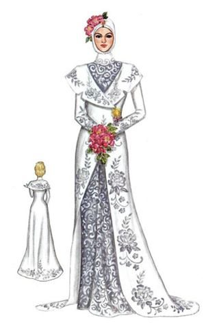 wedding dress. -____- I think it's not so herself :p