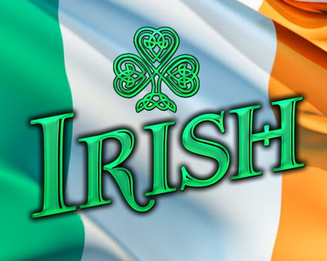 Irish and PROUD!  And NOT just on St. Pat's Day!!!