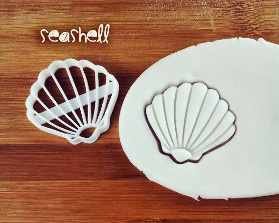 Seashell cookie cutter and others biscuit cutter shell by Made3D