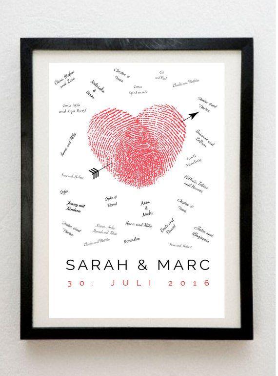 Customizable Guest Poster Guestbook Hochzeit Pinterest Wedding