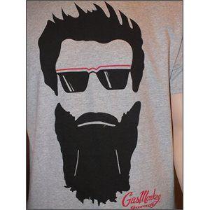 Gas Monkey Garage Grey Aaron Silhouette T-Shirt