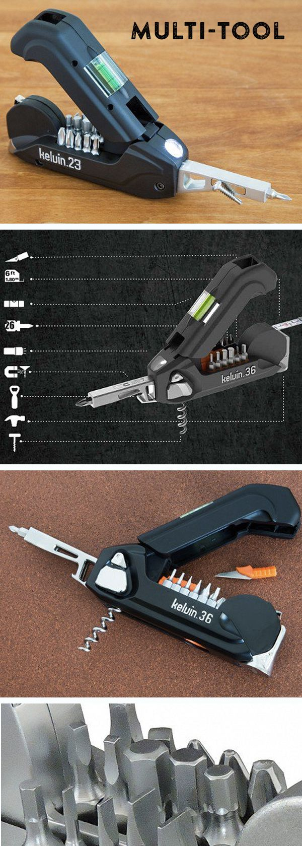 A slick, no-nonsense tool that belongs in cars, offices, dormitories, and apartments everywhere.