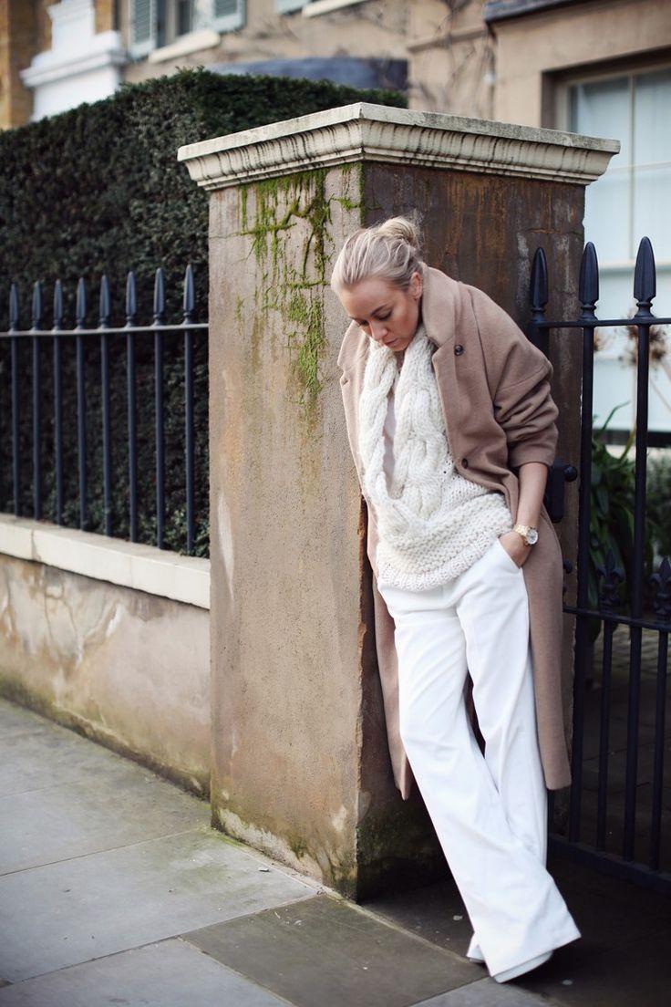 WEEKDAY coat GUDRUN ET GUDRUN knit ZARA shirt COTR x PIMKIE pants STELLA MCCARTNEY shoes (image:5inchandup)