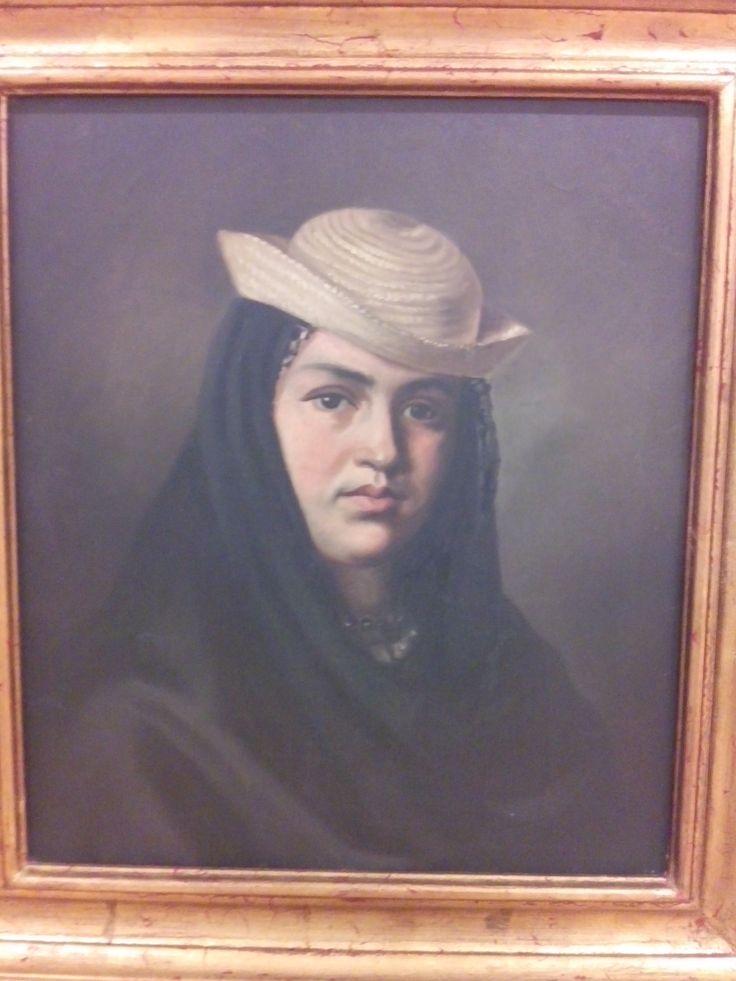 felipe santiago gutierrez texcoco (mexico) 1824-1904 la corrosca 1875 oleo sobre tela