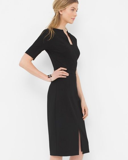 Free Dress Pattern and Style Ideas: Shaped Trim Dress