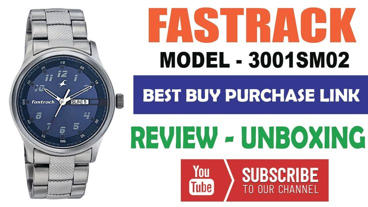 Top Fastrack Wrist Watch Review - Top Fastrack Wrist Watch Unboxing