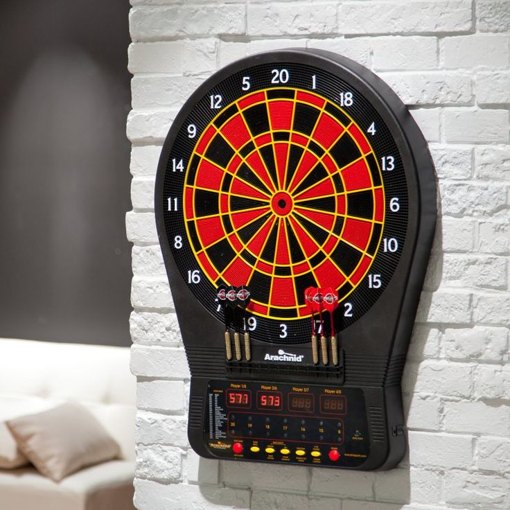 Arachnid CricketPro 650 Electronic Dart Board and Darts Set - E650ARA