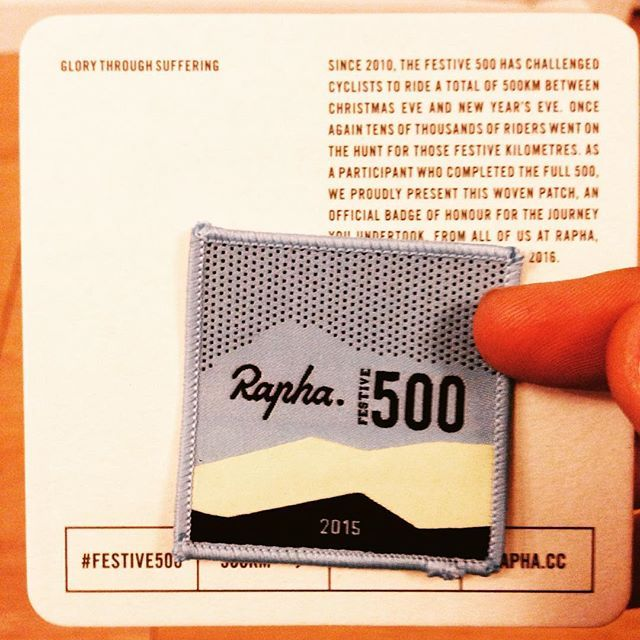 It finally arrived  @rapha