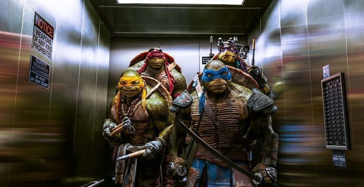 La mejor escena de la nueva película de Las Tortugas Ninja on http://www.dotpod.com.ar