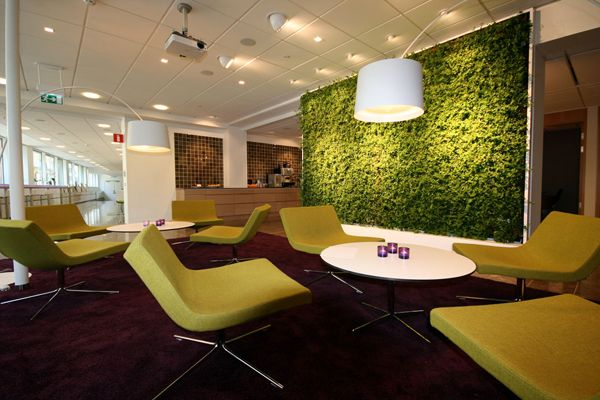 Wallscreen - Tropisk Design Green wall, plant, plants, living wall