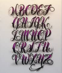 Image result for lettering chicanos alphabet