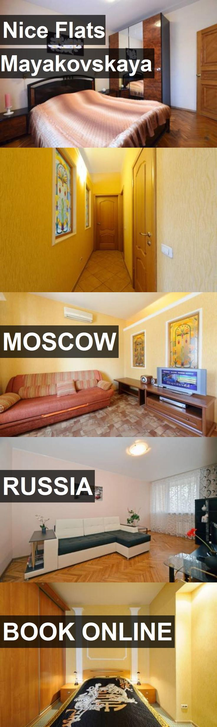 Hotel Nice Flats Mayakovskaya in Moscow, Russia. For more information, photos, reviews and best prices please follow the link. #Russia #Moscow #travel #vacation #hotel