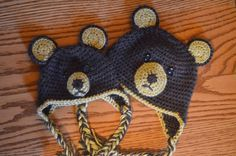 Baby Bear Hat ~ free pattern