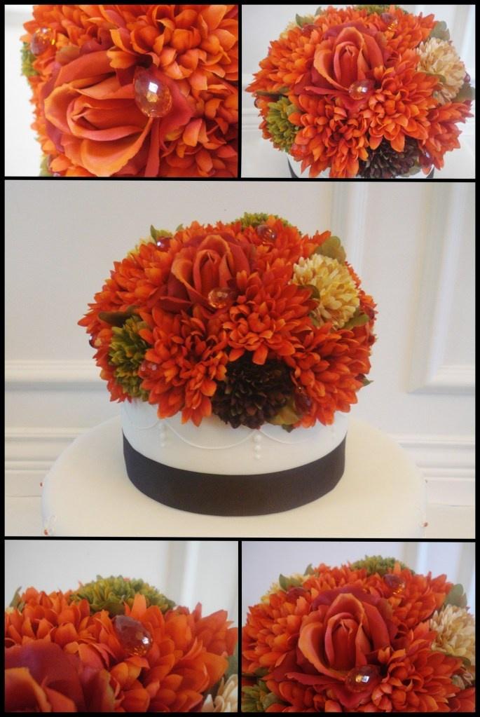 Persimmon Wedding Cake Jewels- @Kristin Dubois