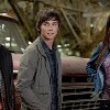 Still of Logan Lerman, Brandon T. Jackson and Alexandra Daddario in Percy Jackson & the Olympians: The Lightning Thief