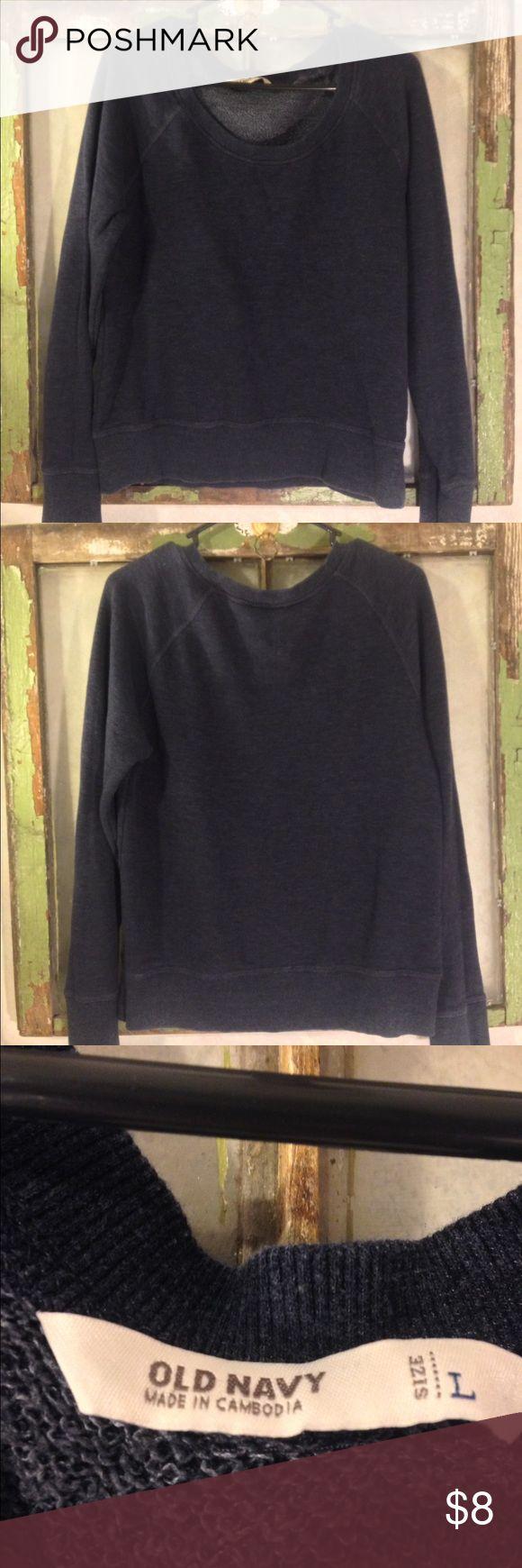 Women's Old Navy Sweatshirt. Size Large. Women's Old Navy Sweatshirt. Size Large. In great shape. Old Navy Tops Sweatshirts & Hoodies