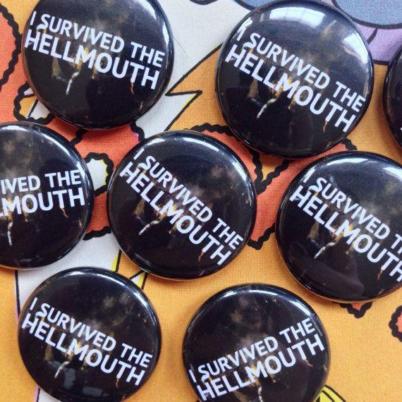 Buffy the Vampire Slayer Hellmouth Pin by truebelieversfanclub