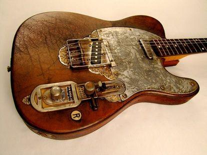 Joker electric guitar - Tony Cochran Custom Electric Guitars